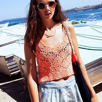 Staring At Stars Neon-Stitch Sweater Tank Top - Urban Outfitters