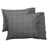 Mini Dot Duvet Cover + Pillowcases, Black
