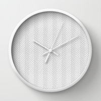 Herringbone DIY Wall Clock by Project M