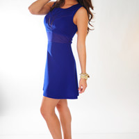 Taking Over Dress: Royal Blue