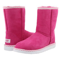UGG Classic Short Hearts Fruit Of Fuchsia - Zappos.com Free Shipping BOTH Ways