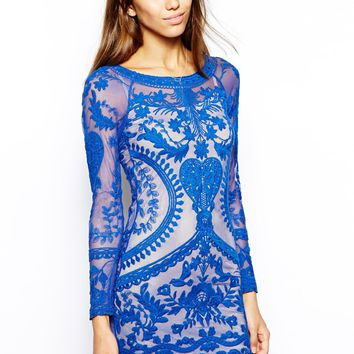 Goldie All Over Lace Bodycon Dress