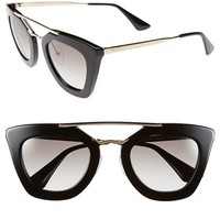 Prada 49mm Retro Sunglasses | Nordstrom