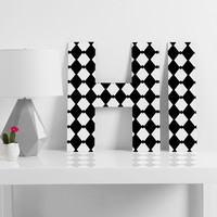 Lisa Argyropoulos Harlequin Diamonds Decorative Letters