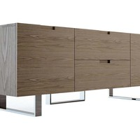 Eldridge Media Stand, Walnut