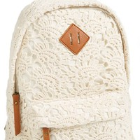 Kendall & Kylie Madden Girl Crochet Backpack (Juniors)