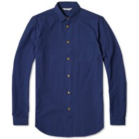 Folk Shoulder Patch Shirt