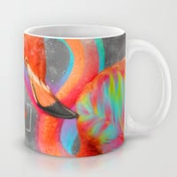 Infinite Possibilities - (Neon Infinity Flamingo) Mug by soaring anchor designs ⚓