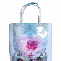 Ted Baker Rixocon Solid Cubist Floral Large Icon Shopper Tote