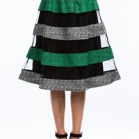 Keep It Mesh A-Line Skirt