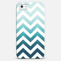 OMBRE MINT CHEVRON | Casetagram