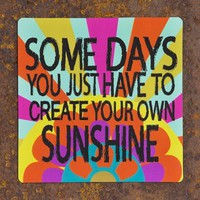Create Your Own Sunshine Car Magnet From Natural Life