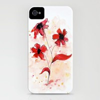 Abstraflowers iPhone Case by Ryan James Caruthers | Society6