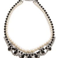 Certain Ratio Noir Ornate Necklace
