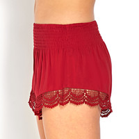Crocheted Cutie Shorts