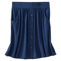 Merona® Women's Knit Casual Button Skirt - Assorted Colors