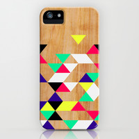 Geometric Polygons Arbutus iPhone & iPod Case by House of Jennifer