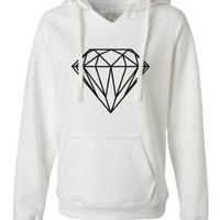 Womens Diamond Deluxe Soft Hoodie