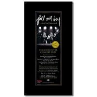 FALL OUT BOY - Live in Phoenix Matted Mini Poster - 28.5x10cm