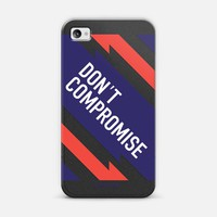 Don't Compromise | Design your own iPhonecase and Samsungcase using Instagram photos at Casetagram.com | Free Shipping Worldwide✈