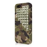 Empire Signature Series Slim-Fit Case for iPhone 5/5S - Retail Packaging - Cute Camo Stud