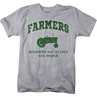 Lifestyle Legends™ Men's Farmers Feed You People Printed T-shirt - Tractor Supply Co.