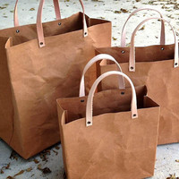 Kraft Shopping bag set shopping bag