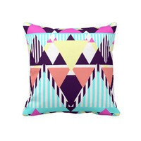 Candy Native Pattern 2 Pillows from Zazzle.com