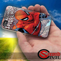 The Amazing SpiderMan - iPhone 4/4S, 5/5S, 5C - Samsung Galaxy S3, S4 for Rubber and Hard Plastic Case