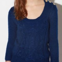 Staring at Stars Cableknit Sweater