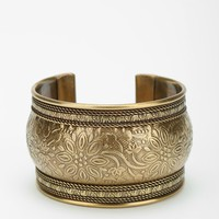 Etched Antiqued Cuff Bracelet - Urban Outfitters