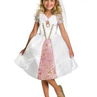 Girls Disney's Tangled Rapunzel Wedding Gown Costume