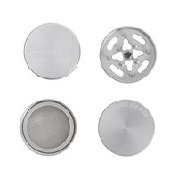 Santa Cruz Shredder - Mini Aluminum Herb Grinder - 4-part - Choice of 2 colors