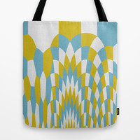 Honey Arches Yellow Tote Bag by Project M