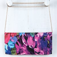 Fruitful Canvas Clutch