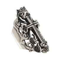 King Baby Studio Traditional Cross Finger Ring