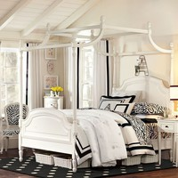 Suite Funky Zebra Applique Duvet Cover + Sham