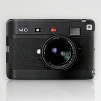 classic retro Black doft Leica M8 vintage camera apple iPad 2, 3 and iPad mini Case