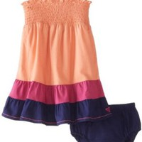 Roxy Baby-Girls Infant Block Party Dress