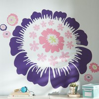 Decorator Floral Decal