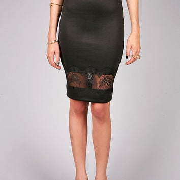 Lace Trace Skirt | Pencils Skirts at Pink Ice
