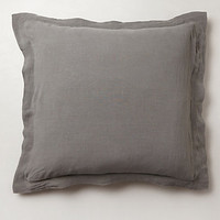 Soft-Washed Linen Euro Sham