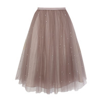 Buy Coast Cordelia Skirt, Oyster online at John Lewis