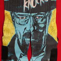 Breaking Bad Custom Nike Elites Customized Inspired by Heisenberg Walter White Parody