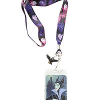 Disney Sleeping Beauty Maleficent Lanyard
