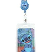 Disney Lilo & Stitch Retractable Lanyard