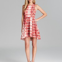 Naven Dress - Jackie Sleeveless Printed Fit and Flare