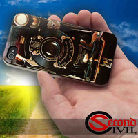 Steampunk camera - iPhone 4/4S, 5/5S, 5C - Samsung Galaxy S3, S4 for Rubber and Hard Plastic Case