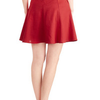 Musee Matisse Skirt in Crimson