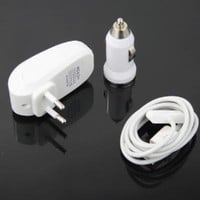 USB Car Charger+Wall Power Adapter For iPod iPhone4 3GS - $4.50 : freegiftbox!, online shopping for electronics,iphone ipad accessories, comsumer electronics and accessories, game accessories and fashion apperal
